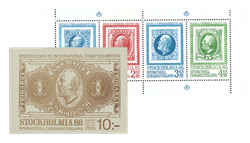 Sverige 1983 - Stockholmia hæfte - Postfrisk