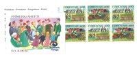 Féroé, timbres de Noël carnet 1994