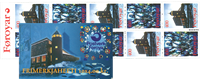 Færøerne - AFA 281-282 - Julehæfte 1995