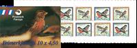 Færø.Invasionsfugle 1997 hæfte AFA 307-308
