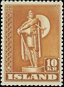 Island 1947 - Viking 10 kr