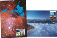 Europastamps 1994 - Space
