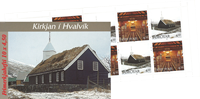 Færø.Kirken i Hvalvik hæft.97 AFA 318-319