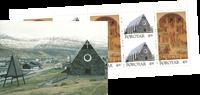 Féroé, église*Christianskirke* carnet 1996