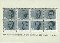 Allemange - Bloc-feuillet neuf - anniversaire