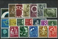 Pays-Bas - Année 1962- Neuf