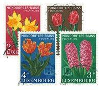 Luxembourg 1954 - Oblitéré - Michel 531-34