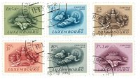 Luxembourg 1955 - Oblitéré - Michel 541-46