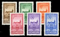 Luxembourg - FIP kongres i 1936 - Postfrisk (Mi. 290-295)