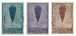 Belgien 1932 - OBP 353-55 - Stemplet
