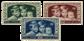Belgien 1935 - OBP 404-06 - Ubrugt