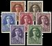 Belgique - Tuberculose Elisabeth 1931 - Neuf avec ch. (OBP 326-32)