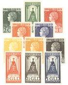 Holland 1923 - NVPH 121-131 - Ubrugt
