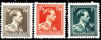 Belgique - Neuf avec charnière - OBP 1005-07