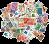 Indonesien - frimærkepakke 200 forskellige