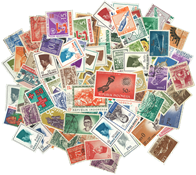 Indonesia - 200 different stamps
