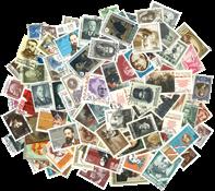 400枚不同有关名人的邮票