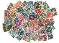 来自全世界 100张不同1950年前的邮票