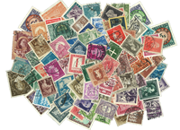 Worldwide before 1950 - 100 different stamps