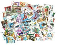 Sport - 100 different stamps