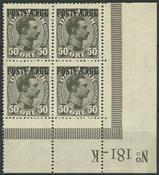 Danmark Postfærge - 1922