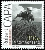 Ungarn - Robert Capa - Postfrisk frimærke