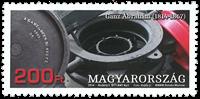 Ungarn - Ganz Abrahám - Postfrisk frimærke