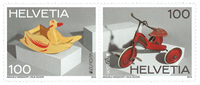 Schweiz - Europa 2015 - Postfrisk sæt 2v