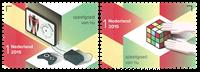 Holland - Europa 2015 / Spillekonsol og professorterning - Postfrisk sæt 2v