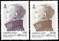Groenland - Timbres d'usage courant - Série neuve 2v