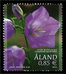 Åland - Klokkeblomst - Postfrisk frimærke