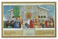 Åland - Sepac - Postfrisk frimærke