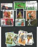 Tir 18 timbres différents