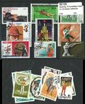 Skydning 18 forskellige frimærker