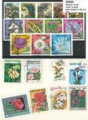 Blomster - 10 sæt alle forskellige
