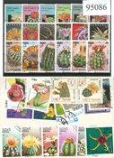 仙人掌40张不同邮票