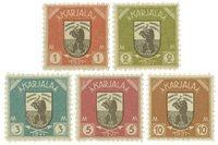 KARJALA - 1922 LAPE 8-12 postituoreina