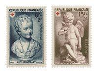 Frankrig 1950 - YT 876/77 - Ubrugt