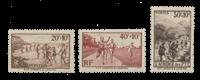 Frankrig 1937 - YT 345/47 - Ubrugt