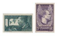 Frankrig 1937 - YT 337/38 - Ubrugt