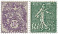 Frankrig 1927 - YT 233-34 - Ubrugt