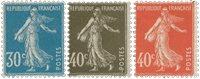 France 1924 - YT 192-94 - Neuf avec charnière