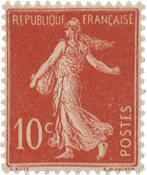 France 1906 - YT 134 - Neuf avec charnière