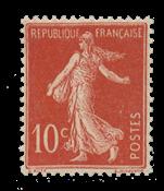 Frankrig 1906 - YT 134 - Ubrugt