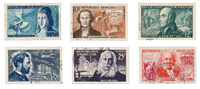 France 1955 - YT 1012/17 - Cancelled