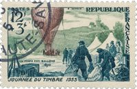 France 1955 - YT 1018 - Oblitéré