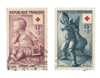 France 1955 - YT 1048/49 - Cancelled