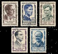 France 1957 - YT 1100-04 - Oblitéré