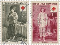 France 1956 - YT 1089/90 - Cancelled