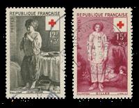 France 1956 - YT 1089-90 - Oblitéré